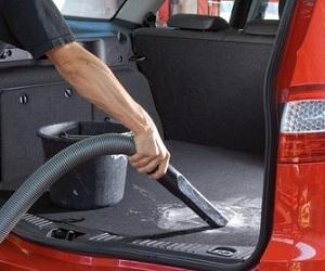 Уборка в багажнике автомобиля