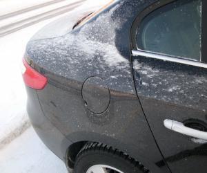 Если примерзли двери автомобиля